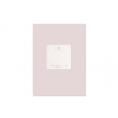 Hoeslaken katoensatijn roze (160x200)