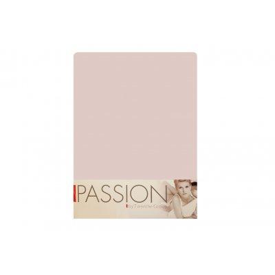 Hoeslaken jersey rosa (180x200)