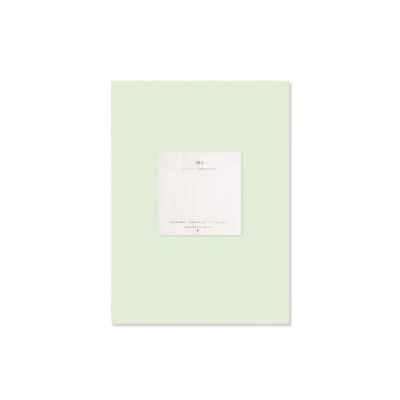Hoeslaken katoensatijn licht groen (160x200cm)