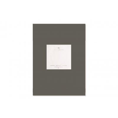 Hoeslaken satijn leisteen grijs (160x200)