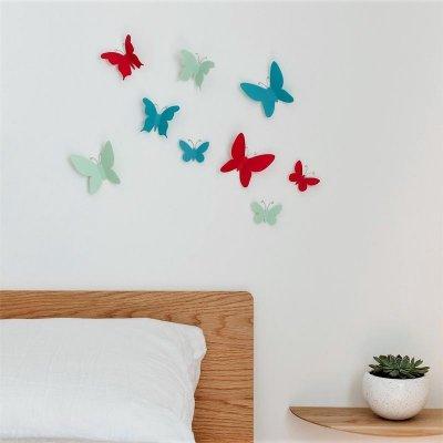 Wanddeco mariposa