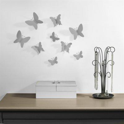 Wanddeco mariposa metaal
