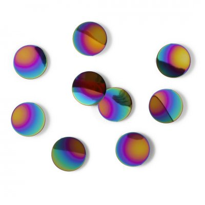 Wanddeco confetti dots rainbow