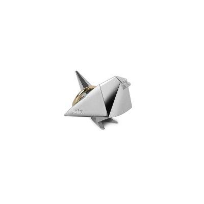 Origami ringhouder chroom