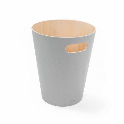 Vuilbak woodrow grijs 7,5l