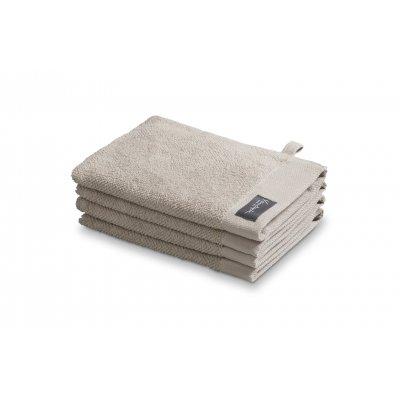 Washand home un towel stone 16x21cm