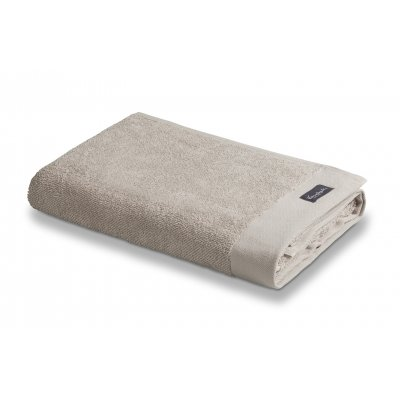 Badlaken home uni towel stone 70x140cm - vandyck