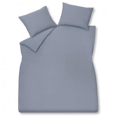 Overttrek tweepersoons washed cotton blauw (260x240)