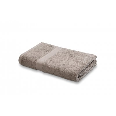 Badlaken plain uni hazel 70x140cm - vandyck