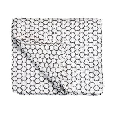 Wafel bedsprei pure (steelgrey) - 260x260cm - vandyck