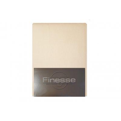 Hoeslaken flanel ecru (160x200)