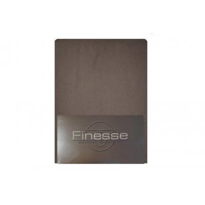 Hoeslaken flanel antraciet (180x200)