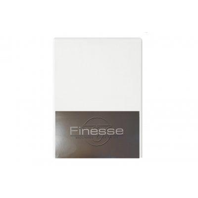 Hoeslaken flanel wit (160x200)