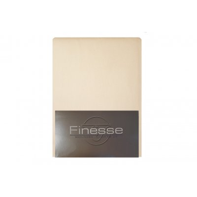 Hoeslaken flanel ecru (180x200)