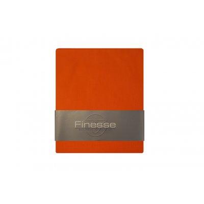 Hoeslaken baby oranje (60x120)