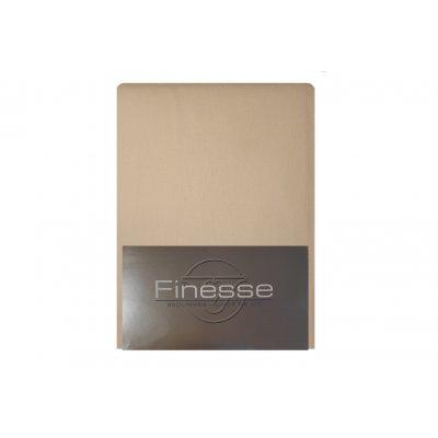 Hoeslaken flanel mastic (160x200)