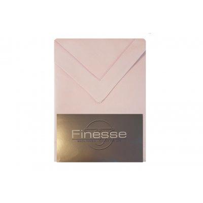 Laken met 2 kussenslopen, tweepersoons (240x300) - oud roze