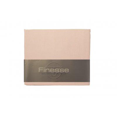 Peluw kussensloop oud roze  (90x50)