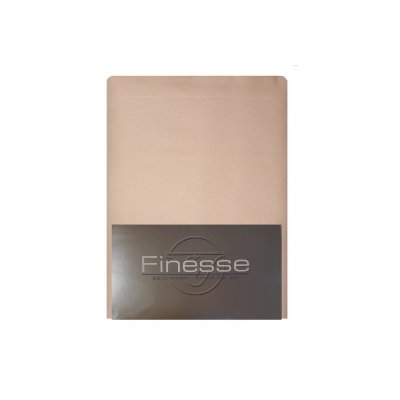 Lakenset met 1 sloop flanel oud roze (180x300)