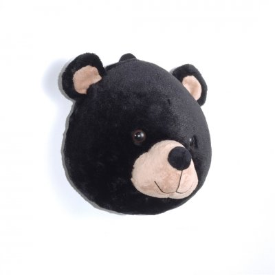 Dierenkop knuffel beer