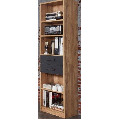 Boekenkast met 2 laden
