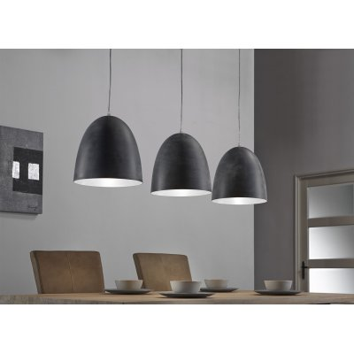 Hanglamp industry 3 lampen