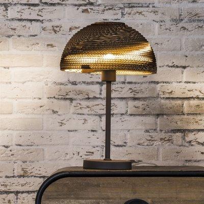Tafellamp bruin