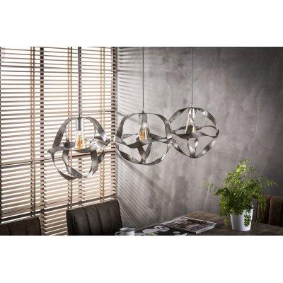 Hanglamp twist-3 zilver (excl. lamp)